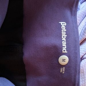 Betabrand Work It Skort size medium plum EUC